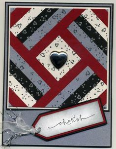 Wedding Quilt Card by rdm - Cards and Paper Crafts at Splitcoaststampers