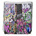 Shop Street Art Drawstring Backpack created by Personalize it with photos & text or purchase as is! Black Rope, Back To Black, Solid Black, Melbourne Shopping, Everywhere You Go, Black Trim, Drawstring Backpack, Street Art, Backpacks