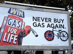 Aah, the gas free life