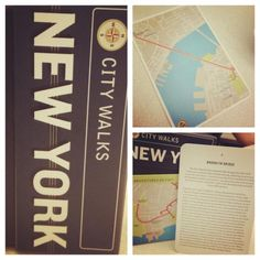 NYC - DO: A walking tour of the city.  These hand cards give you history and #maps to all the great landmarks!