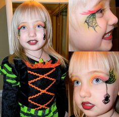 <3 Cute and Scary Witch Makeup Ideas For Halloween <3