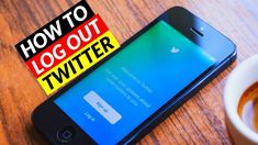 How To Logout of Twitter - How to Sign Out Twitter Account -2019 Social Media Apps, Sign Out, Accounting, Smartphone, Make It Yourself, Twitter