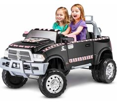 Kids Power Wheels Toy Car Children Toy Truck Ride On Big Wheel Battery 12V Jeep #Unbranded