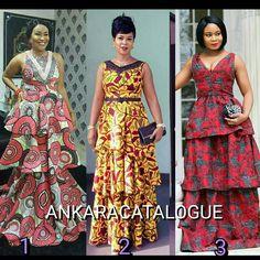 "299 Likes, 22 Comments - AnkaraCatalogue (@ankaracatalogue) on Instagram: ""Pick your fave... #ankaracatalogue #buynigeria #buyafrica #africanfabrics #africanprint…"""