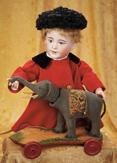 The Empress and the Child - Antique Dolls: 311 French Bisque Character,238,Depicting an Older Boy by SFBJ