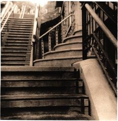 Something strange about me is my obsession with stairs.