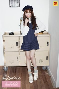 korean actress and sneakers | As a style icon for women in their 20s, Lee Yoo-bi…