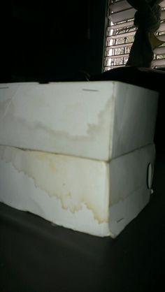 Caja de carton reciclado(antes)