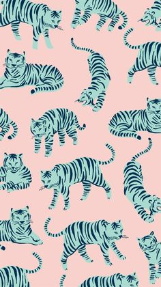 Tiger – repeat surface pattern Tiger – repeat surface pattern – Animal Wallpaper And iphone Art And Illustration, Pattern Illustration, Book Design Graphique, Illustration Design Graphique, Phone Wallpaper Images, Wallpaper Backgrounds, Iphone Wallpaper, Animal Wallpaper, Colorful Wallpaper