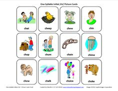 Initial CH: Free Speech Therapy Articulation Picture Cards from Testy yet trying. Pinned by SOS Inc. Resources @SOS Inc. Resources.