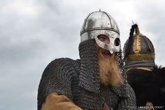 Swedish viking (Fredrik Hellman) in Wolin 2015. Fighter.