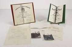 Moberly MO Jr High & Junior College Graduation Certificates Programs 1944 & '46