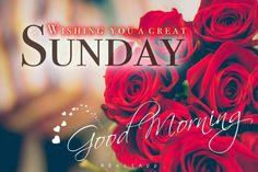 Good Morning Sunday Greetings
