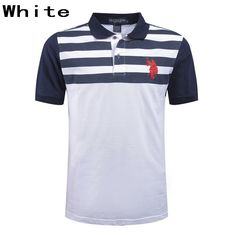 Ralph Lauren Men Striped Chest Short Sleeve Polo White Polo Shirts, Polo Ralph Lauren, Mens Fashion, Sleeve, Fit, Clothing, Mens Tops, How To Wear, T Shirt