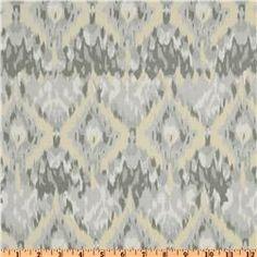 Palladium Ikat Grey, fabric.com [Large Throw Pillows]