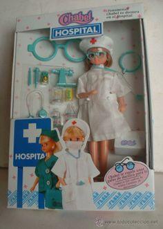 MUÑECA CHABEL HOSPITAL, ENFERMERA