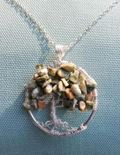 Tree of Life Pendant - really need to make one of these!