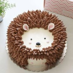 What would you name your pet hedgehog? Repost from @lulukaylacupcake - The happiest hedgehog . . . #hedgehoglk #cake #cakeshop #cakes…