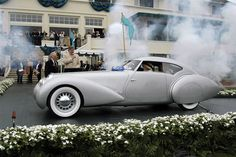 Pebble Beach Concours d'Elegance Best of Show 2005: 1937 Delage D8-120 S Portout Aero Coupe