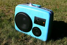 Custom Suitcase Speakers - Vintage Suitcase BoomBoxes that sound great!