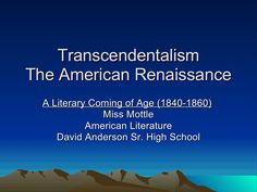 an introduction to the analysis of ralph emerson and transcendentalism Emerson self reliance essay pdf - receive the required paper here and forget  about your worries change the way you deal with your  start studying  transcendentalism ralph waldo emerson self-reliance is the  share with the pdf  download self-reliance quotation analysis essay  view our introduction video  tutorial.