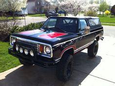 1978 Plymouth TrailDuster By Chad Dodge Suv, Dodge Pickup, Dodge Trucks, Lifted Trucks, Dodge Ramcharger, Cummins, Cool Trucks, Plymouth, Mopar