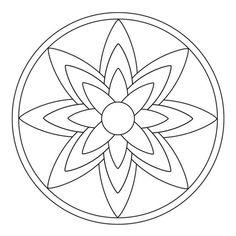 Blüten-Mandala 1