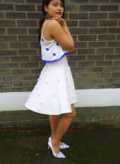Dior inspired dress  http://pridenstyle.blogspot.co.uk/2014/12/diy-dior-2013-dress-of-year.html