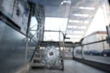 Skudepisode. Sådan så der forleden ud i Lundtoftegade efter endnu et skyderi. - Foto: JENS DRESLING