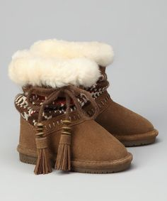 Bearpaw boots for kids...on Zulily.