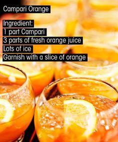 campari & orange juice