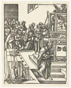 Fine Art Print-Martyrdom of St. Creator: Lucas Cranach (German, Fine Art Print on Paper made in the UK Fine Art Prints, Framed Prints, Poster Prints, Canvas Prints, Lucas Cranach, Classic Image, Wood Engraving, Vincent Van Gogh, Heritage Image