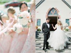Blush and Gold Wedding at The Montauk Yacht Club. Hamptons Wedding Photography.