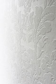 Behang wit bloemen / Wallpaper white florals collection Belmont - BN Wallcoverings