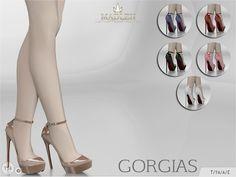 Sims 4 CC's - The Best: Madlen Gorgias Shoes by MJ95