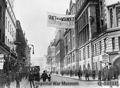 Barclay would have walked this street nearly every day, right beside the Charing Cross Hospital, where the wounded from the front were shipped.