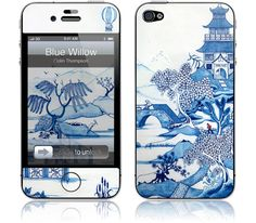 Blue Willow iPhone cases by Colin Thompson