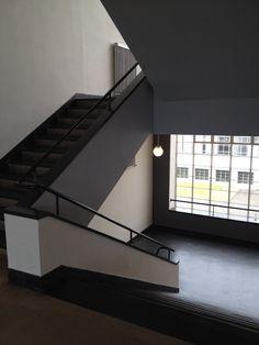 Bauhaus Dessau: Treppenhaus (c) M. Sorge