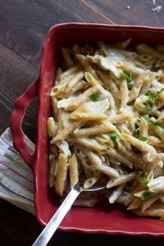 Roasted Garlic Pasta with Chicken