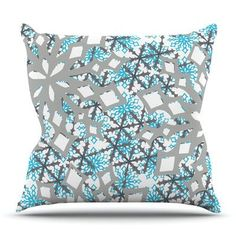 KESS InHouse Chilly by Miranda Mol Outdoor Throw Pillow