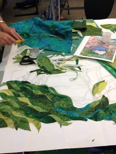 Resplendent Sew A Block Quilt Ideas. Magnificent Sew A Block Quilt Ideas. Patchwork Quilting, Applique Quilts, Quilting Projects, Quilting Designs, Landscape Art Quilts, Landscapes, Watercolor Quilt, Flower Quilts, Thread Painting