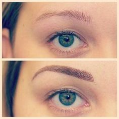 103 Best Tattooed Eyebrows images | Permanent makeup, Tattooed ...