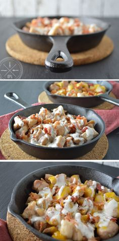 Chicken Bacon Ranch Skillet by Our Paleo Life