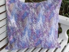 Pillow Cover  Dizzy Grape  100 Premium Cotton by InFullBloomCo, $19.00