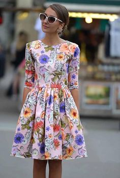 Floral dress inspired by taylor swift music video floral fashion, love fashion, womens fashion Floral Fashion, Love Fashion, Womens Fashion, Fashion Beauty, Trendy Fashion, Spring Fashion, Fashion Trends, Pretty Dresses, Beautiful Dresses