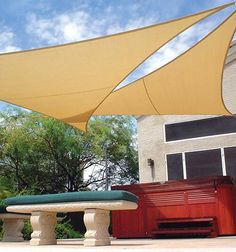 Coolhaven Shade Sail in Sahara