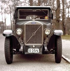 Volvo's first car, the 1927 ÖV4