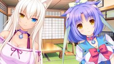Coconut and Cinnamon. A pair of tasty ingredients. #Nekopara #VisualNovel #Cat #Catgirl #Neko