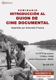 Seminario Introducción al guiòn de cine documental