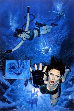 Tomb Raider / The Greatest Treasure of All / Under Preasure / 2000 (Joe Jusko)